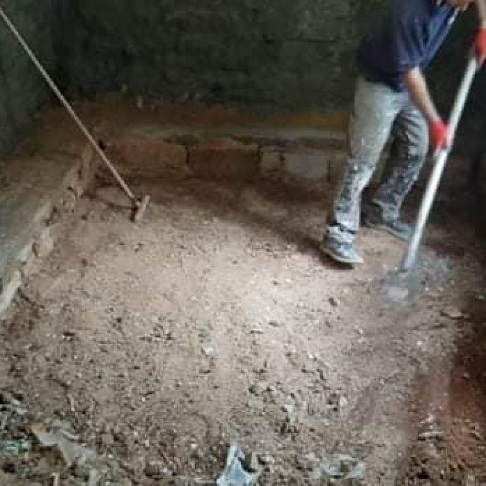 Στεγανοποίηση και θερμομόνωση υπόγειας γκαρσονιέρας – ανακαίνιση Πλατεία Ομήρου στα Ιωάννινα